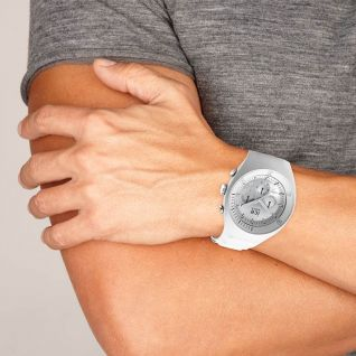 Montre Homme Analogique ICE-WATCH en 49 mm et Silicone Blanc - CLEOR