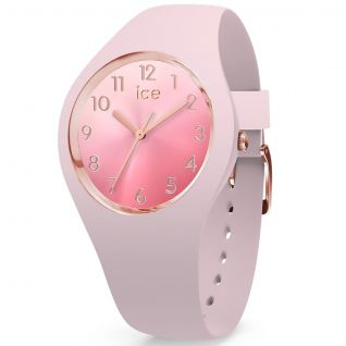 Montre Analogique Femme ICE-WATCH en Silicone Rose - CLEOR