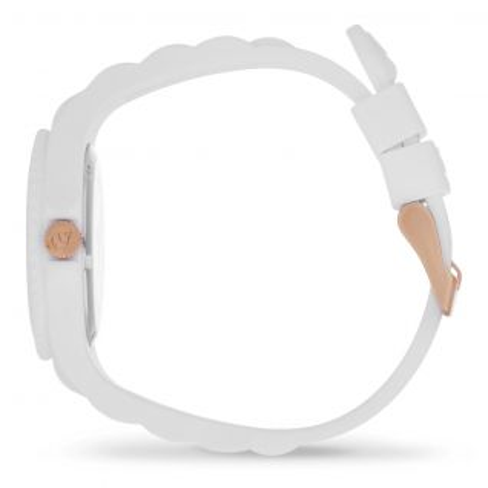Montre Analogique Femme ICE-WATCH en Silicone Blanc - CLEOR