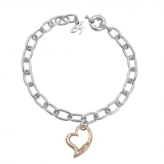 Bracelet Femme Cristal Bicolore ADORE - CLEOR