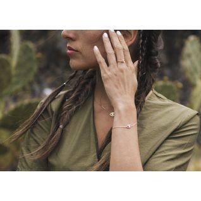 Collier Femme avec Sans Pierre Blanc IMPALA - CLEOR