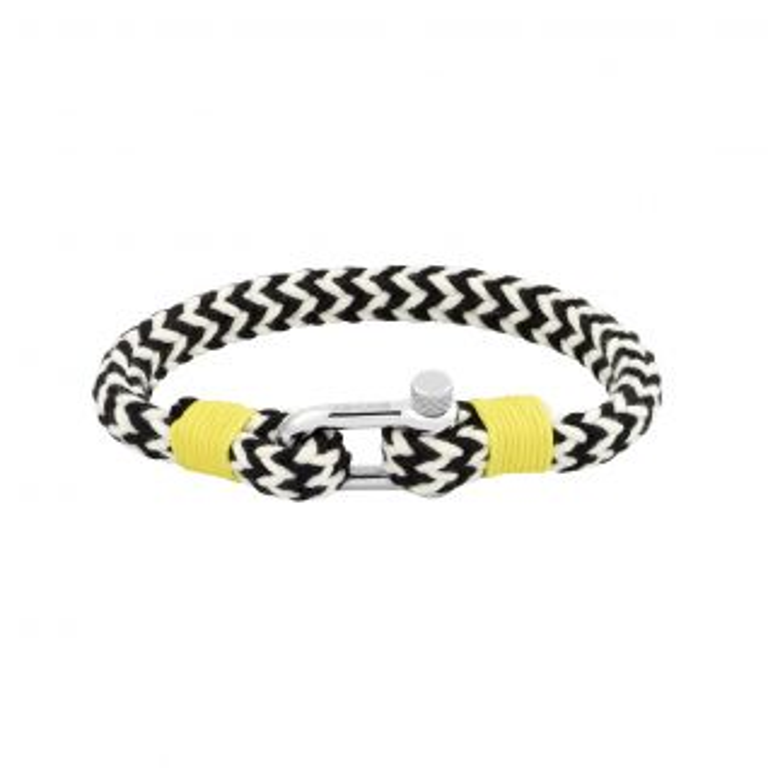 Bracelet Homme  Bicolore ROCHET - CLEOR