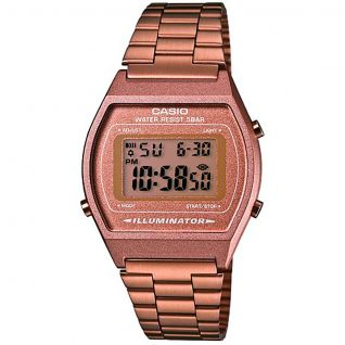 Montre Homme Digital CASIO en Acier Marron - CLEOR