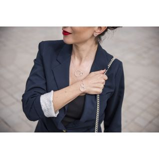 Collier Femme avec Oxyde Blanc ARBELO - CLEOR