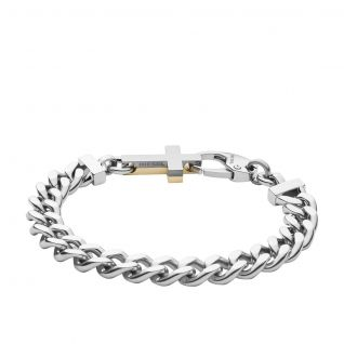 Bracelet DIESEL en Acier Blanc - CLEOR