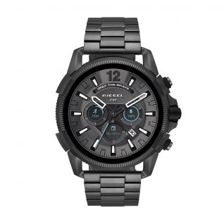 Montre Homme Full Display DIESEL ON en 47 mm et Acier Gris - CLEOR