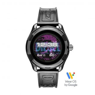 Montre Homme Digital DIESEL ON en 45 mm et Silicone Noir - CLEOR