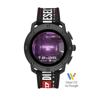 Montre Homme Digital DIESEL ON en 48 mm et Nylon Noir - CLEOR