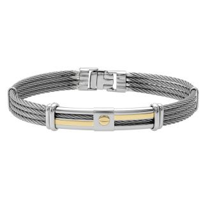 Bracelet Homme  Gris JOURDAN - CLEOR