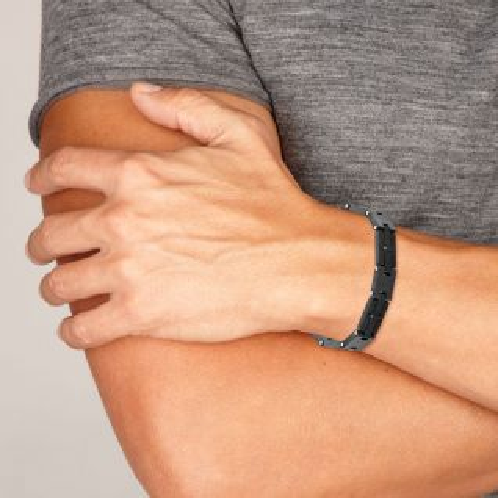 Bracelet Homme Oxyde Gris MALE - CLEOR
