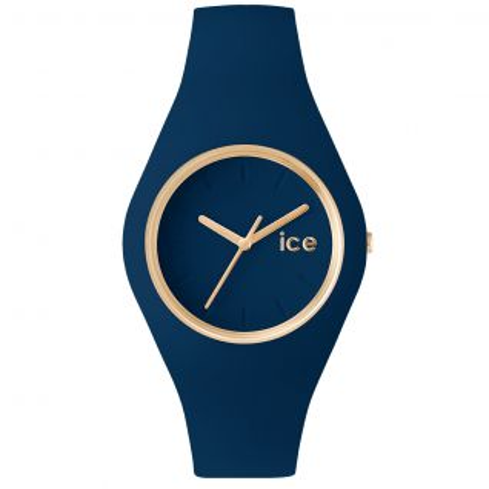 Montre Femme Analogique ICE-WATCH en 38 mm et Silicone Bleu - CLEOR