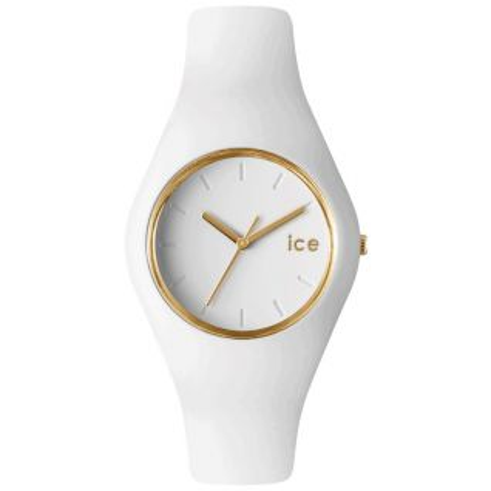 Montre Femme Analogique ICE-WATCH en 43 mm et Silicone Blanc - CLEOR