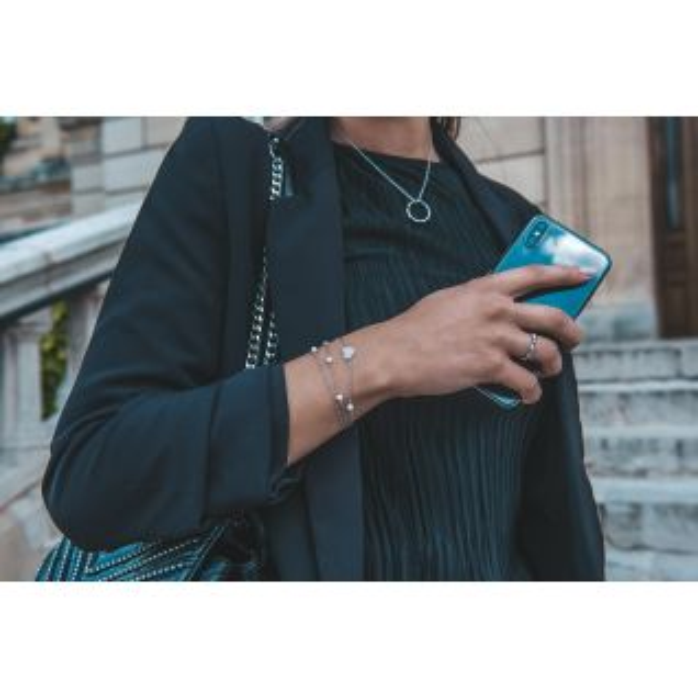 Bracelet Femme Perle Blanc CLEOR - CLEOR