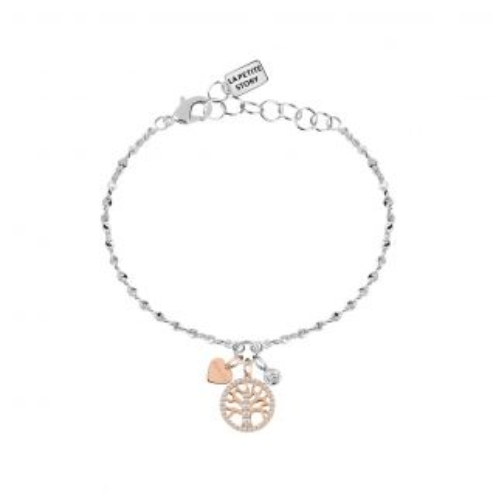 Bracelet Femme Oxyde Bicolore LA PETITE STORY - CLEOR