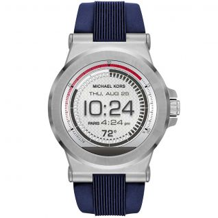 Montre Homme Digital MICHAEL KORS ACCESS en 46 mm et Silicone Bleu - CLEOR