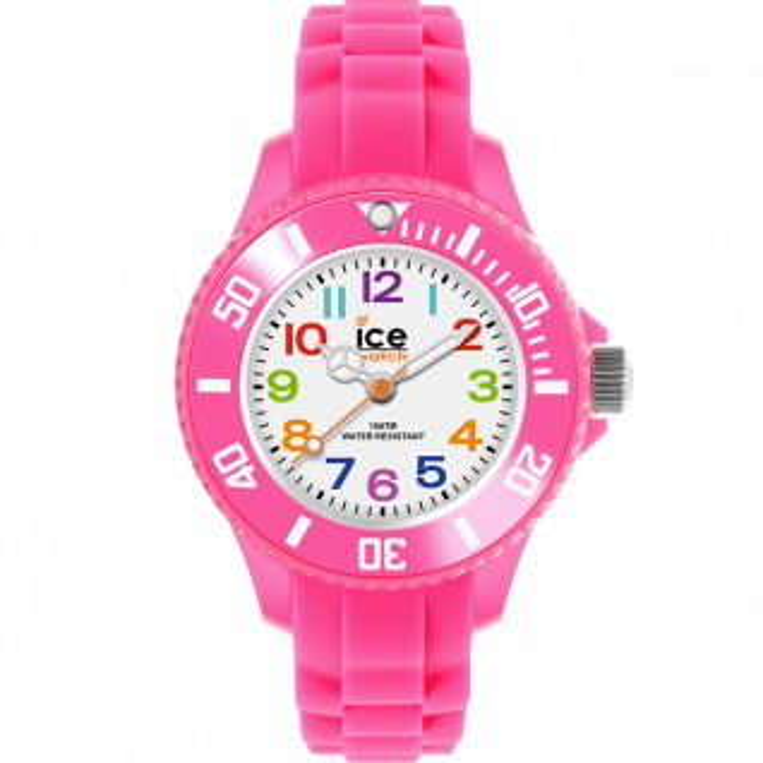 Montre Enfant Analogique ICE-WATCH en 31 mm et Silicone Rose - CLEOR