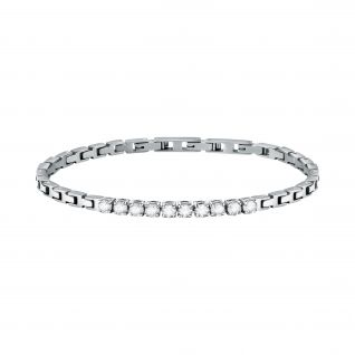 Bracelet MORELLATO en Acier Blanc et Cristal - CLEOR