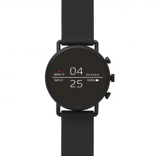 Montre Mixte Digital SKAGEN CONNECTED en 40 mm et Silicone Noir - CLEOR