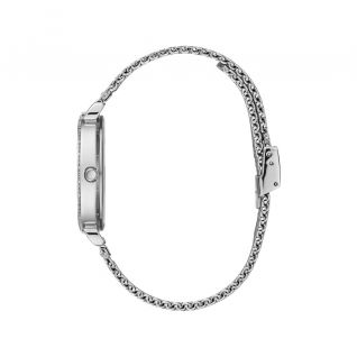 Montre Femme Analogique GUESS avec boîtier de 34 mm et bracelet en Acier Gris - CLEOR