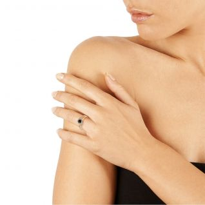 Bague Femme avec Oxyde Noir CLEOR - CLEOR