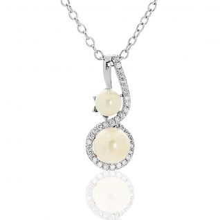 Collier Femme avec Perle Blanc CLEOR - CLEOR