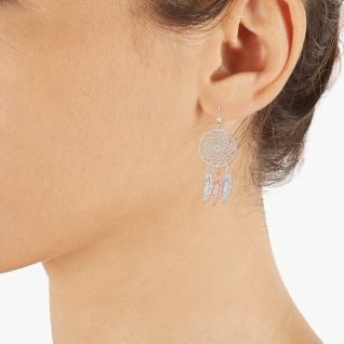 Boucles d'oreilles Femme Blanc TIPY - CLEOR