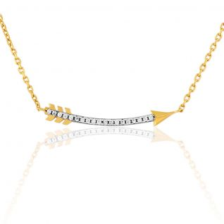 Collier Femme avec Oxyde Blanc CLEOR - CLEOR