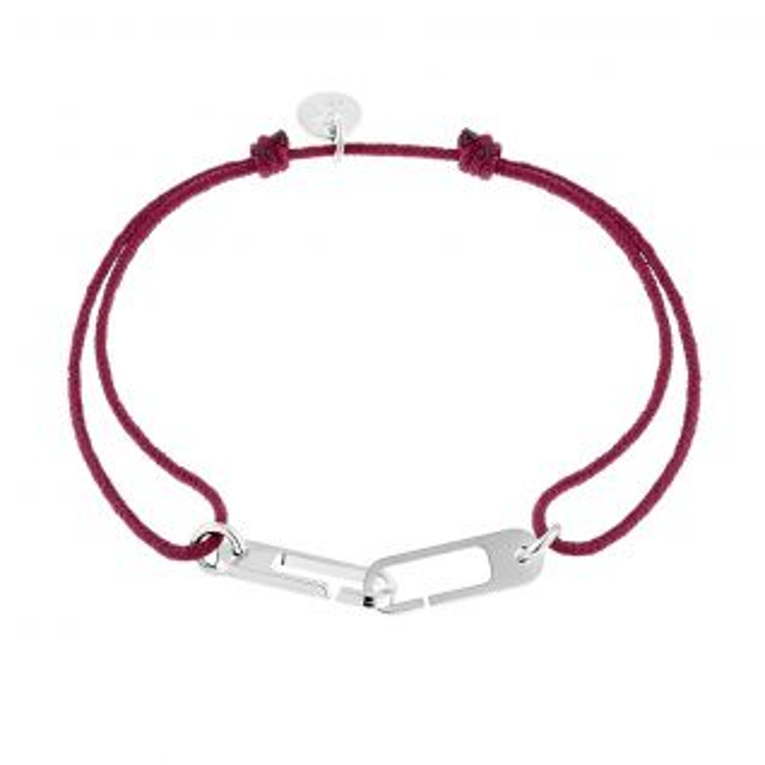 Bracelet Mixte  Blanc L'AVARE - CLEOR