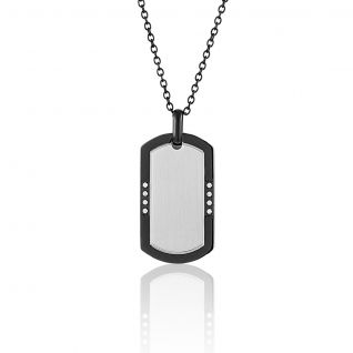 Collier Femme avec Oxyde Blanc MALE - CLEOR