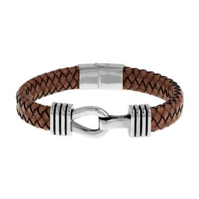 Bracelet Homme  Marron IROKOI - CLEOR