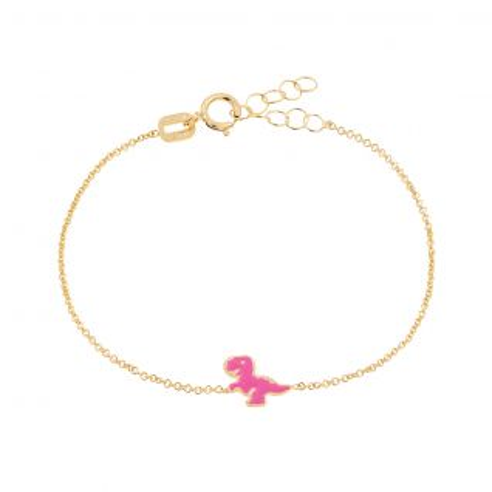Bracelet Enfant Email Jaune CLEOR - CLEOR