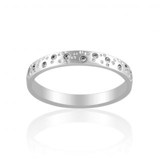 Alliance Mixte avec Diamant Blanc CLEOR - CLEOR