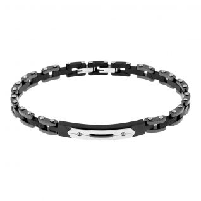 Bracelet Homme Céramique Blanc CLEOR - CLEOR