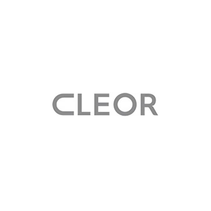 Boucles d'oreilles Pendantes CLEOR en Or 375/1000 Jaune et Cristal Blanc - CLEOR