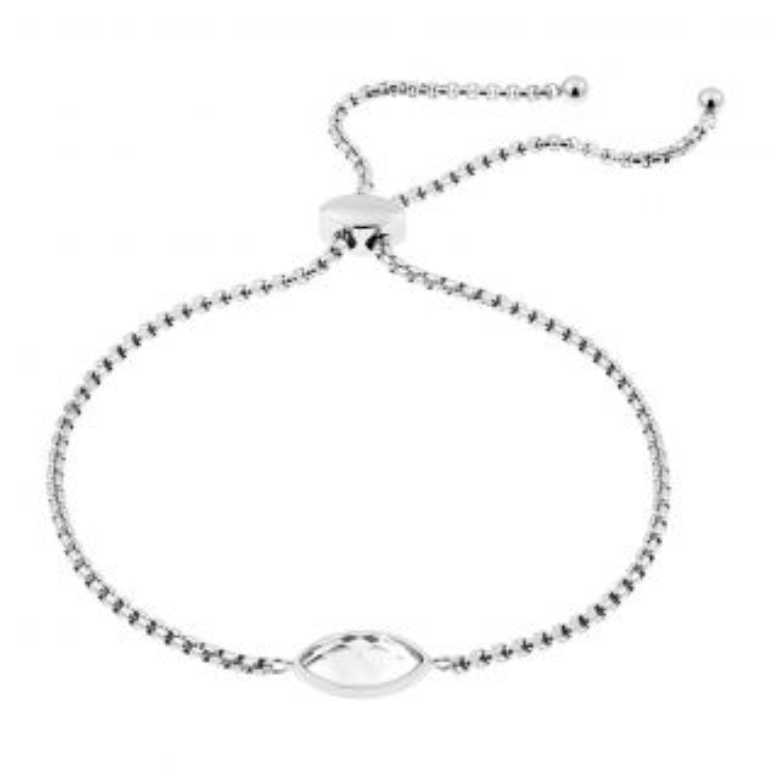 Bracelet Femme Cristal Gris MISSISSIPI - CLEOR