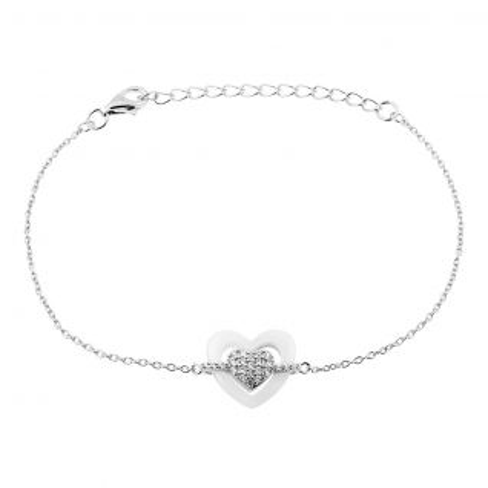 Bracelet Femme Céramique Blanc CLEOR - CLEOR