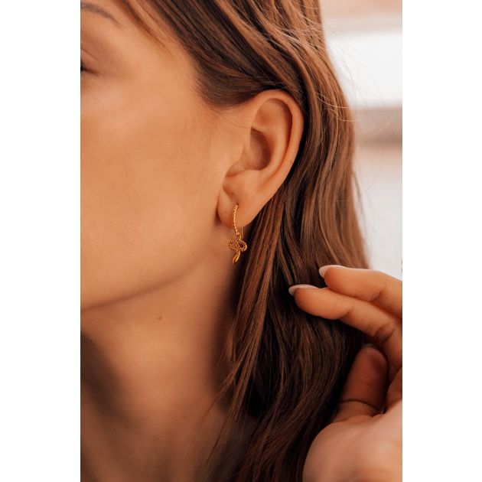 Boucles d'oreilles Femme IMPALA - fermoir Crochet - CLEOR