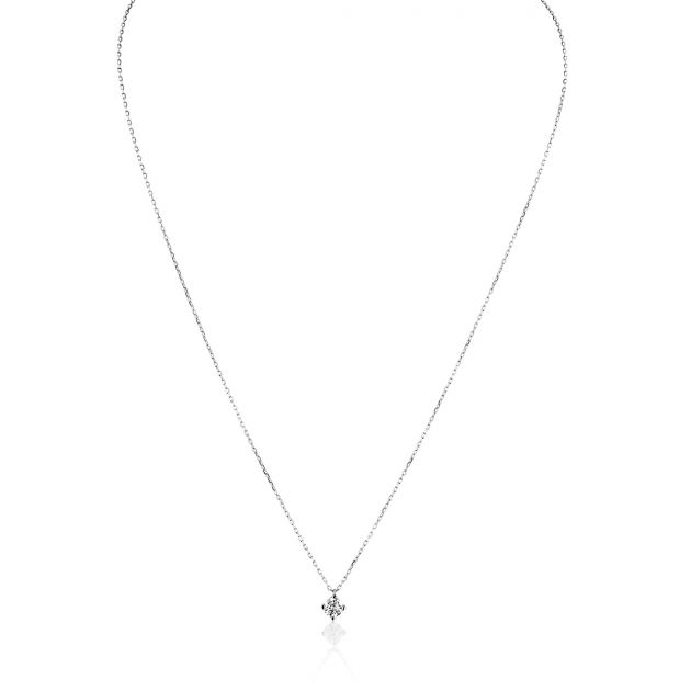 Collier Femme avec Diamant Synthétique Blanc LIVE DIAMONDS - CLEOR