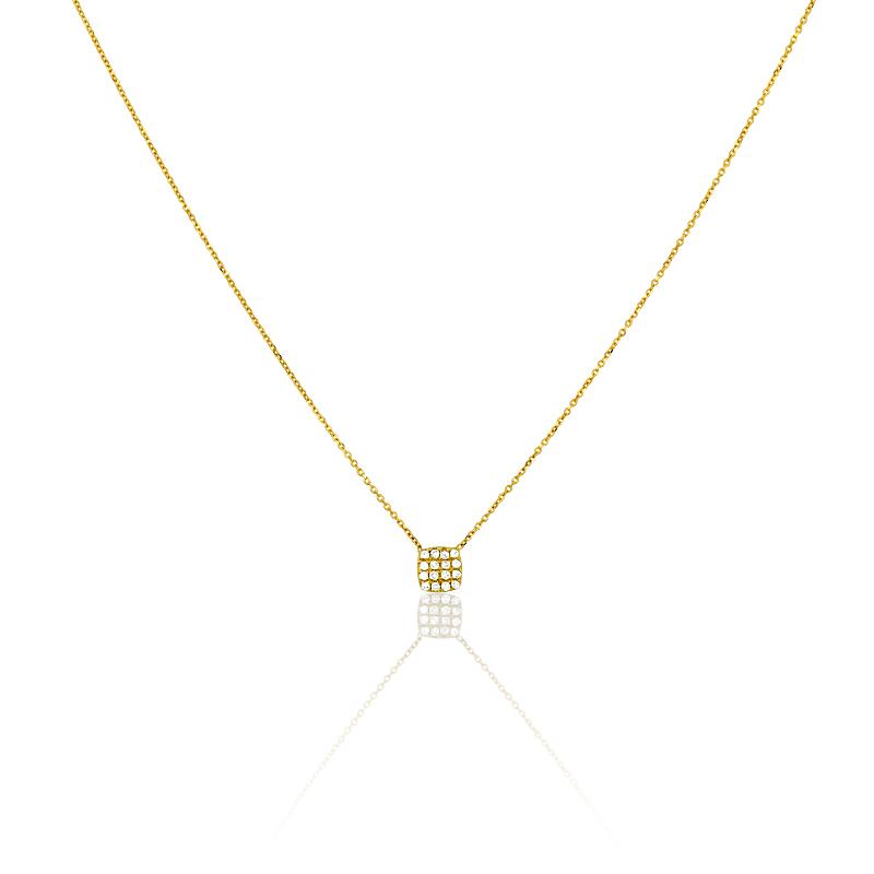 collier or 375 1000 diamant collier femme avec cleor z0000282. Black Bedroom Furniture Sets. Home Design Ideas