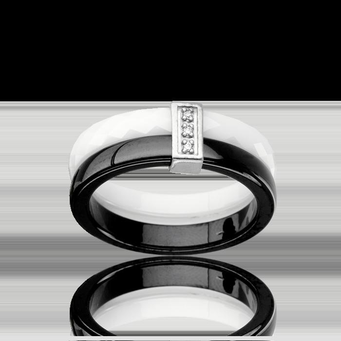bague c ramique or 375 1000 diamant bague c ramique femme avec cleor z0002949. Black Bedroom Furniture Sets. Home Design Ideas