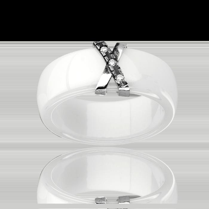 bague c ramique or 375 1000 diamant bague c ramique femme avec cleor z0002950. Black Bedroom Furniture Sets. Home Design Ideas