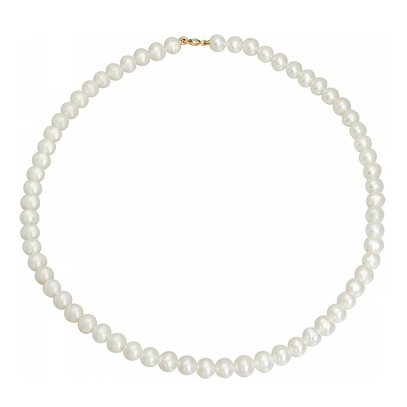 collier or 750 1000 perle de culture collier femme avec. Black Bedroom Furniture Sets. Home Design Ideas