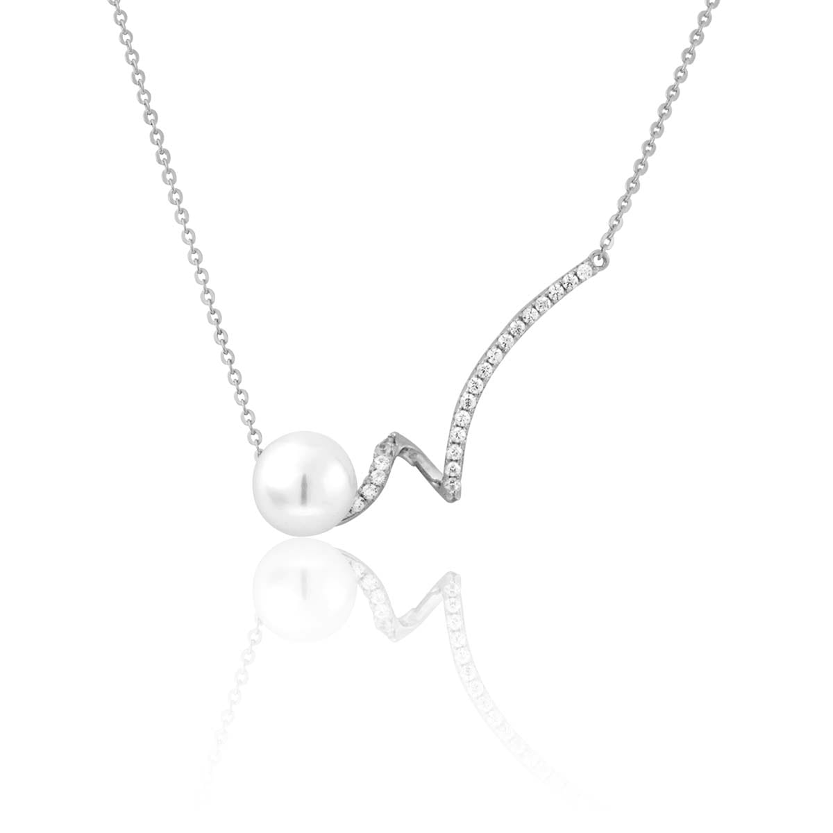 collier perle synthetique